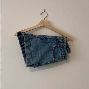 • American Apparel Jean Shorts •